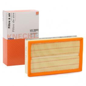 79932221 MAHLE ORIGINAL Filterinsats Totallängd: 290,0mm, B: 175,0mm, H: 71,3mm Luftfilter LX 3503 köp lågt pris