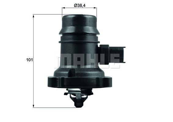 72362981 BEHR THERMOT-TRONIK Opening Temperature: 103°C, with seal Thermostat, coolant TM 37 103 cheap