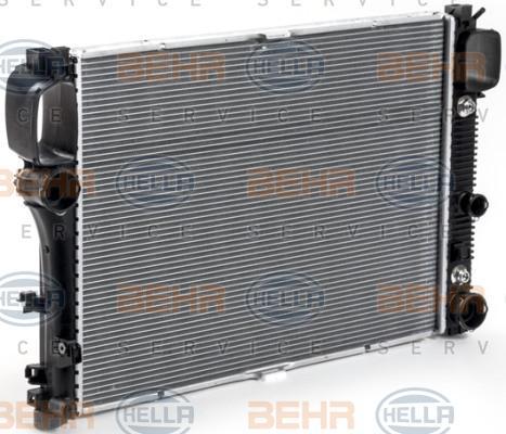 8MK 376 700-614 HELLA Kühlrippen gelötet Kühler, Motorkühlung 8MK 376 700-614 günstig kaufen