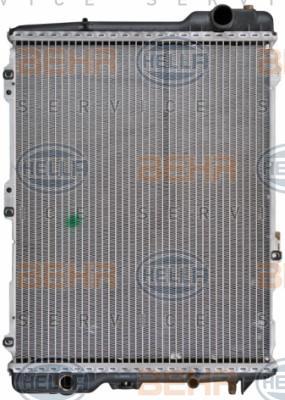 8MK 376 711-284 HELLA mit Schraube, Kühlrippen mechanisch gefügt Kühler, Motorkühlung 8MK 376 711-284 günstig kaufen