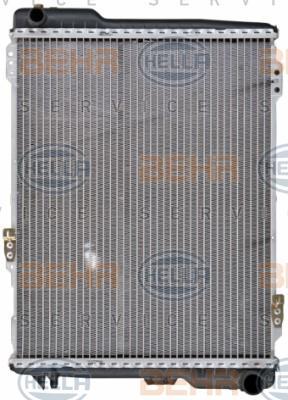8MK 376 711-284 Kühler HELLA - Markenprodukte billig