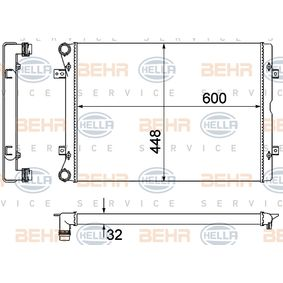 BEHR HELLA SERVICE 8MK 376 901-071  K/ühler Motork/ühlung