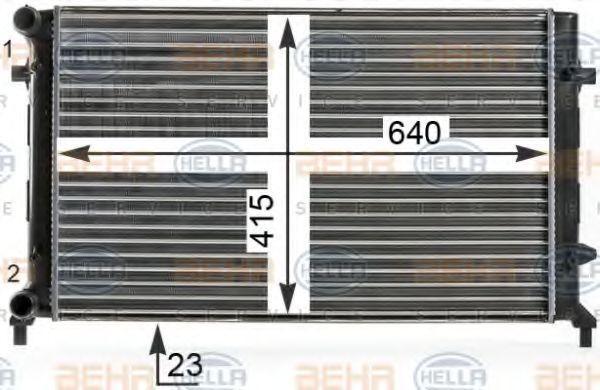 8MK376700-494 Motorkühler HELLA Erfahrung