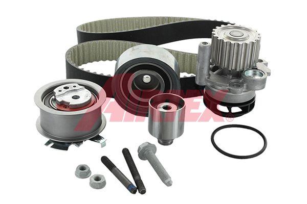 AIRTEX Water pump and timing belt kit WPK-199803