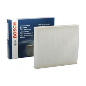 Køb M5002 BOSCH Partikelfilter Breite: 224mm, Höhe: 35,5mm, Länge: 258mm Kabineluftfilter 1 987 435 002 billige