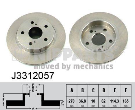Original JEEP Bremsscheiben J3312057