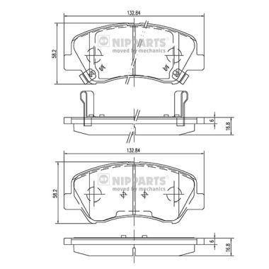 Original Układ hamulcowy N3600550 Hyundai