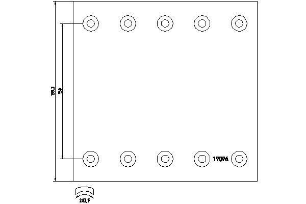1909437 TEXTAR Bremsbelagsatz, Trommelbremse billiger online kaufen