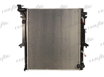 21520032 FRIGAIR Aluminium, Kunststoff Netzmaße: 525 x 640 x 28 mm Kühler, Motorkühlung 0116.3032 günstig kaufen