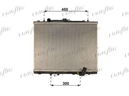 21520033 FRIGAIR Aluminium, Kunststoff Netzmaße: 500 x 640 x 32 mm Kühler, Motorkühlung 0116.3033 günstig kaufen