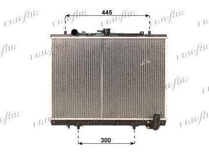 21520034 FRIGAIR Aluminium, Kunststoff Netzmaße: 425 x 600 x 40 mm Kühler, Motorkühlung 0116.3034 günstig kaufen