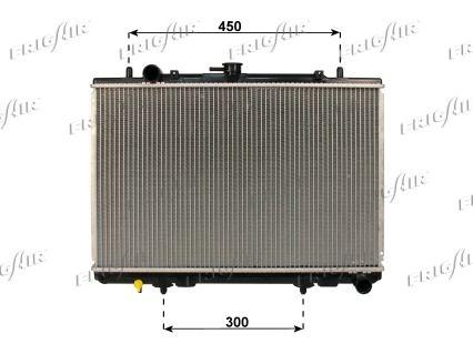 21520035 FRIGAIR Aluminium, Kunststoff Netzmaße: 375 x 600 x 32 mm Kühler, Motorkühlung 0116.3035 günstig kaufen