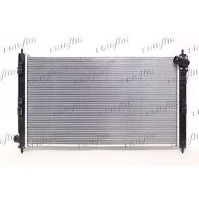21520036 FRIGAIR Aluminium, Kunststoff Netzmaße: 700 x 410 x 28 mm Kühler, Motorkühlung 0116.3036 günstig kaufen