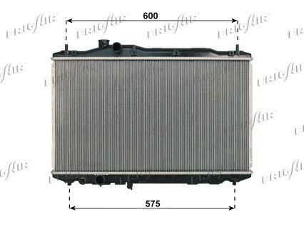 21510030 FRIGAIR Aluminium, Kunststoff Netzmaße: 370 x 680 x 16 mm Kühler, Motorkühlung 0119.3030 günstig kaufen