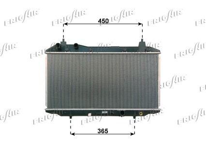21510032 FRIGAIR Aluminium, Kunststoff Netzmaße: 325 x 630 x 16 mm Kühler, Motorkühlung 0119.3032 günstig kaufen