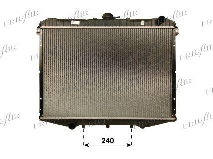 21500065 FRIGAIR Aluminium, Kunststoff Netzmaße: 450 x 630 x 36 mm Kühler, Motorkühlung 0121.3065 günstig kaufen