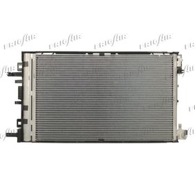 VAN WEZEL Original Kondensator Klimaanlage 37005478 Saab 9-5 Opel