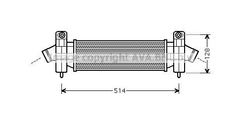 PRASCO: Original Intercooler FDA4341 ()