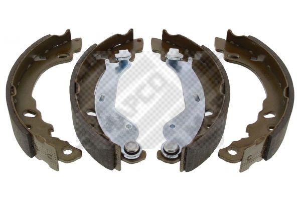 8032 MAPCO Hinterachse Breite: 32mm Bremsbackensatz 8032 günstig kaufen