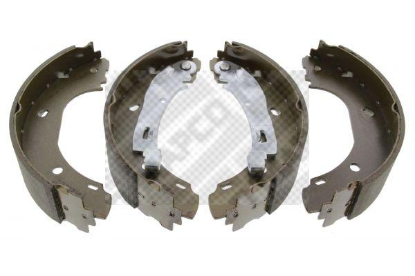 8134 MAPCO Hinterachse Breite: 57mm Bremsbackensatz 8134 günstig kaufen