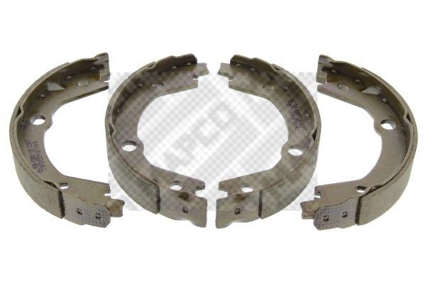 MAPCO: Original Bremsbackensatz für Trommelbremse 8558 (Breite: 27mm)