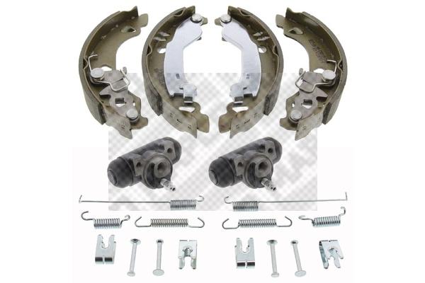 Original FIAT Bremsklötze für Trommelbremse 9767