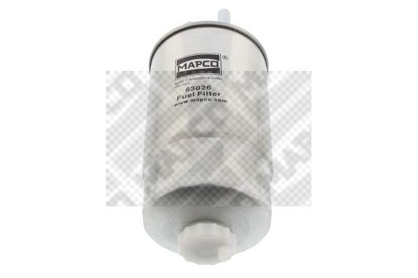 MAPCO Fuel filter 63026