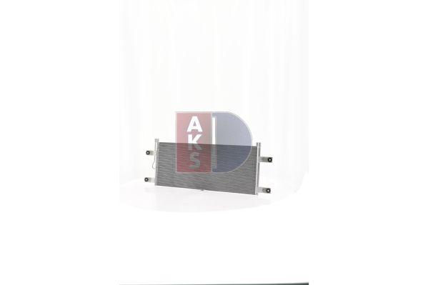AKS DASIS Kondensor, klimatanläggning till MERCEDES-BENZ - artikelnummer: 132014N