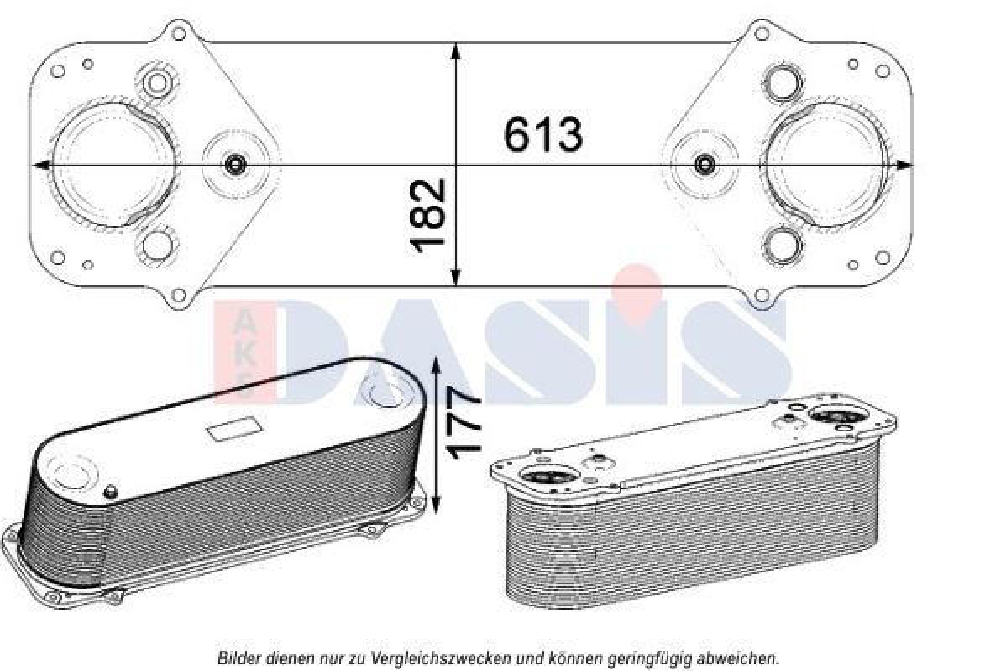LKW Ladeluftkühler AKS DASIS 467007N kaufen