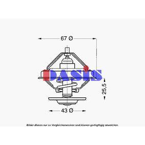 751874N Thermostat, Kühlmittel AKS DASIS 751874N - Große Auswahl - stark reduziert