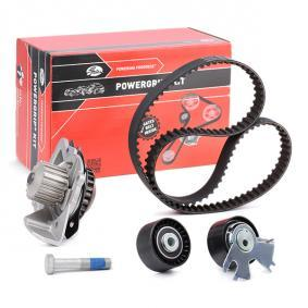Timing Belt /& Water Pump Kit KP15672XS Gates Set 1613561780 1761515 1855735 New