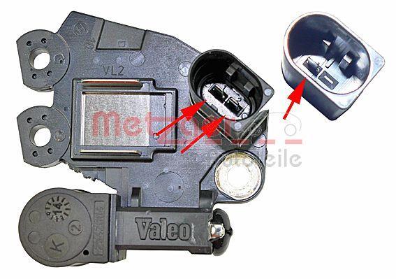 OE Original Regler Lichtmaschine 2390079 METZGER