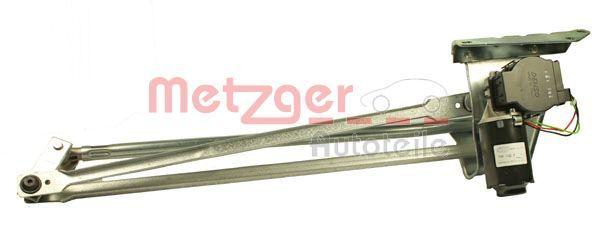 Купете 2190212 METZGER за автомобили с ляв волан, отпред, с електродвигател, ORIGINAL ERSATZTEIL Лостов механизъм на чистачките 2190212 евтино