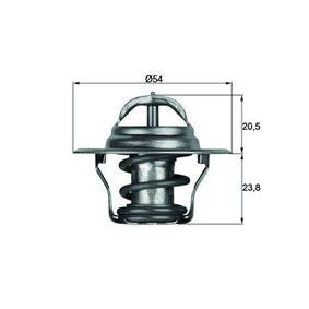TX 14 87D Thermostat, Kühlmittel MAHLE ORIGINAL in Original Qualität