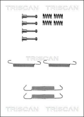 TRISCAN: Original Zubehörsatz Bremsbacken 8105 112065 ()