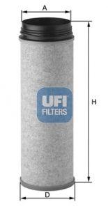 OE Original Sekundärluftfilter 27.A04.00 UFI