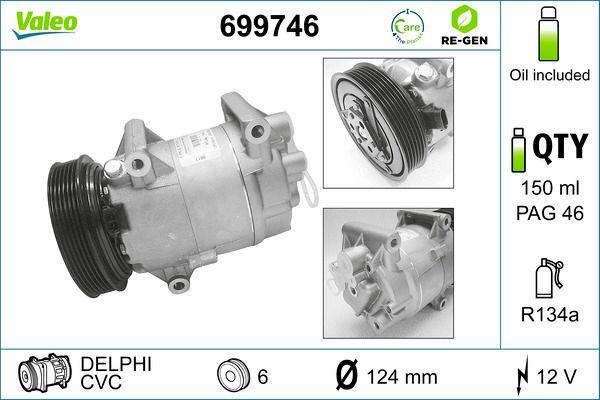 VALEO Klimakompressor 699746