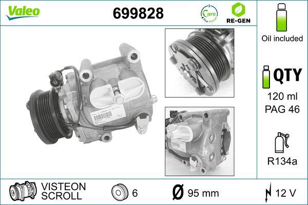 VALEO Klimakompressor 699828