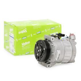 813140 VALEO PAG 46, Kältemittel: R 134a, mit PAG-Kompressoröl, NEW ORIGINAL PART Riemenscheiben-Ø: 114mm Kompressor, Klimaanlage 813140 günstig kaufen
