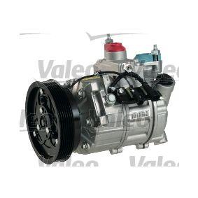 813142 VALEO PAG 46, Kältemittel: R 134a, mit PAG-Kompressoröl, NEW ORIGINAL PART Riemenscheiben-Ø: 134mm Kompressor, Klimaanlage 813142 günstig kaufen