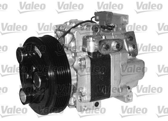 813175 VALEO PAG 46, Kältemittel: R 134a, mit PAG-Kompressoröl, NEW ORIGINAL PART Riemenscheiben-Ø: 124mm, Anzahl der Rillen: 6 Klimakompressor 813175 günstig kaufen