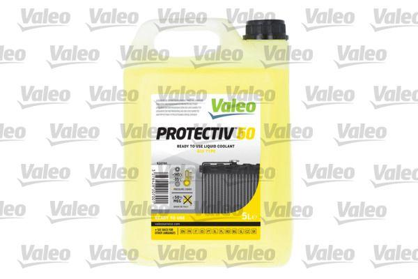 820700 VALEO gelb, Inhalt: 5l, ASTM D3306, ASTM D1384, CUNA NC 956/16, SAE J1034 BS 6580-20, NF R 15601 type 1, DAIMLER DBL 7700.30, MAN 324-SNF, VW TL 774 D/F, MTU MTL 5048, Temperaturbereich von: -35°C Frostschutz 820700 günstig