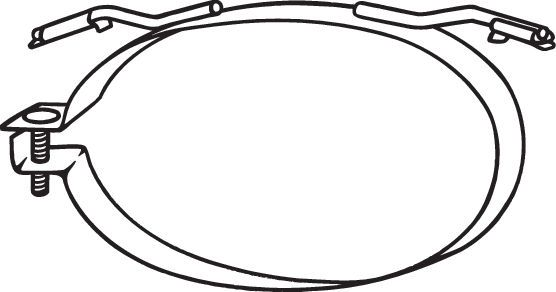 Original MINI Halterung Auspuff 251-921