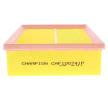 Zracni filter CAF100741P z izjemnim razmerjem med CHAMPION ceno in zmogljivostjo