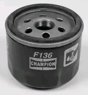 CHAMPION   Filtro olio COF100136S