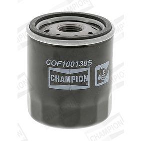 COF100138S Oljefilter CHAMPION originalkvalite