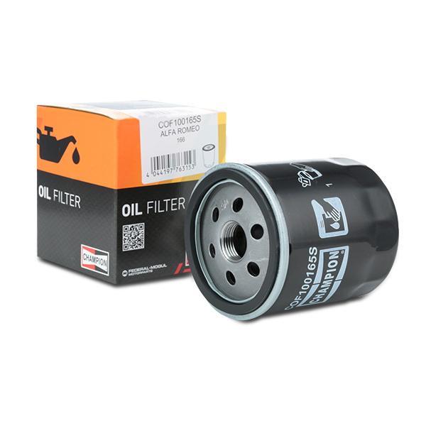 COF100165S Olejový filtr CHAMPION - Levné značkové produkty