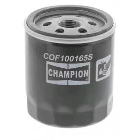 COF100165S CHAMPION našroubovaný filtr R: 77mm, Výška: 87mm Olejový filtr COF100165S kupte si levně