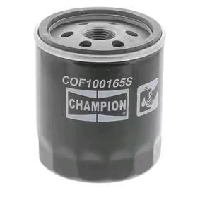 COF100165S CHAMPION Skruvfilter Ø: 77mm, H: 87mm Oljefilter COF100165S köp lågt pris