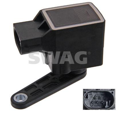 Sensor, Xenonlicht (Leuchtweiteregulierung) SWAG 20 93 6921